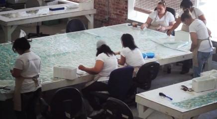 Mosaic company changes local community
