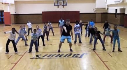 Gym class creates their own adorable 'Nae Nae' dance routine