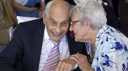 Couple could become world's oldest newlyweds