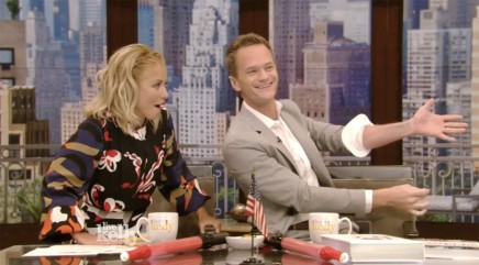 Neil Patrick Harris shocks Kelly Ripa with crazy magic trick