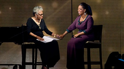 Oprah opens up about Angelou for the first time