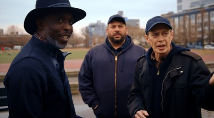 Steve Buscemi talks shop with 'The Wire' star