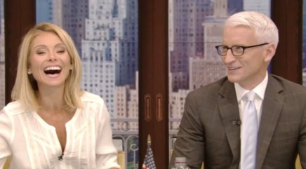 Kelly Ripa can't stop giggling over new scientific study