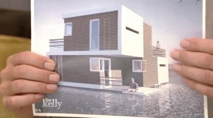 Floating 'prenuptial house' has uncanny ability