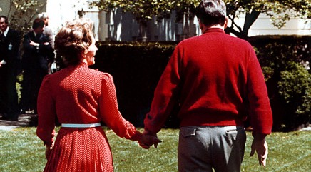 Nancy Reagan's high-fashion style and signature color remembered