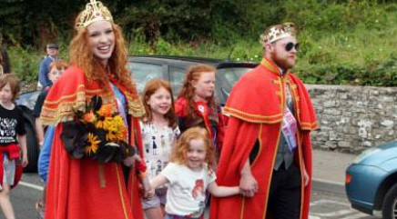 Meet the king and queen of redheads