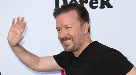 Gervais reveals he doesn't get out much