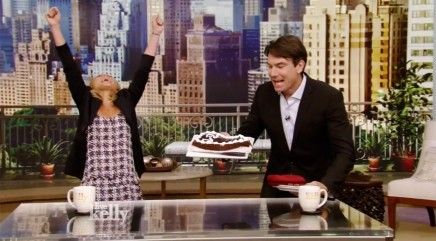 Kelly Ripa gets a special birthday surprise
