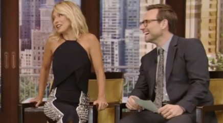 Celebrity guest denies wedding after Kelly Ripa asks about ring on his finger