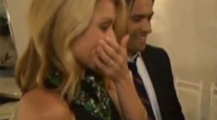 Heartwarming anniversary surprise brings Kelly Ripa to tears