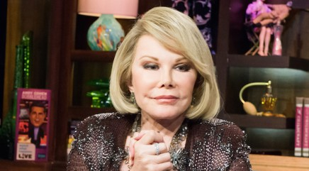 Joan Rivers is rushed to the hospital