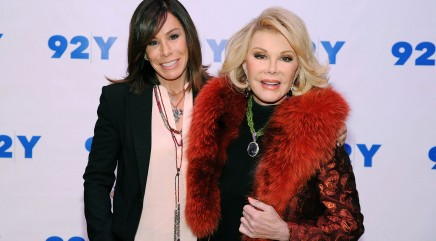 Melissa Rivers opens up about how she's coping with the loss of her mother