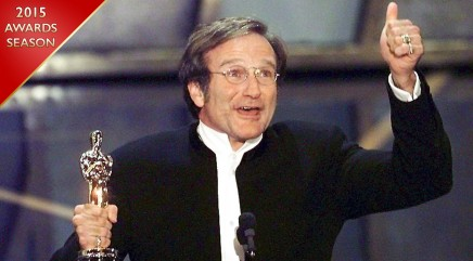 Williams' most memorable Oscars moment