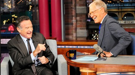 Letterman pays tribute to longtime pal