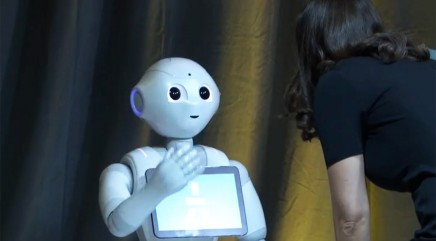 This perceptive robot understands human emotions better than you do