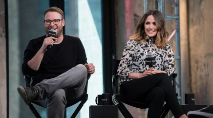 Seth Rogen and Rose Byrne share advice for college students