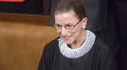Ruth Bader Ginsburg shares her story