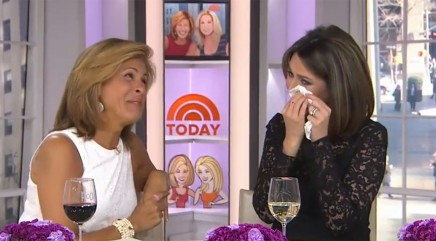 Savannah Guthrie gets emotional about motherhood