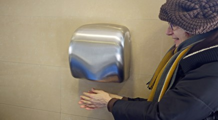 How hand dryers spread more germs than paper towels
