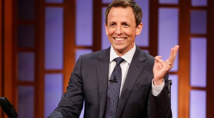 What Seth Meyers avoids doing on TV