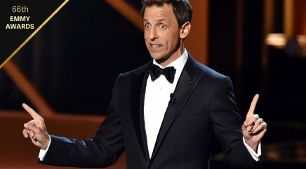 Was Seth Meyers' Emmy monologue a hit?
