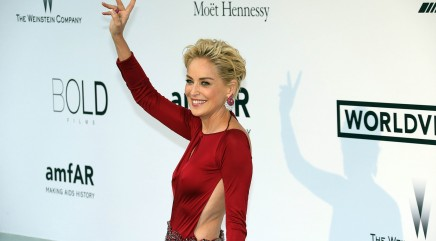 Sharon Stone's take on 'womanly beauty'