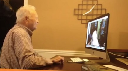 WWII veteran reunites with his long-lost love after more than 70 years
