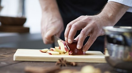 Foie gras you can make with apples and leftovers