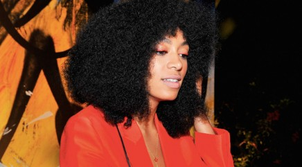 Solange's reaction to elevator fight