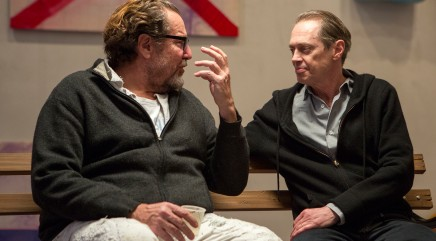 Steve Buscemi talks immortality with Julian Schnabel