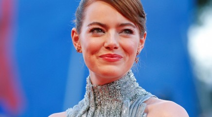 Emma Stone turns heads in sparkly ensemble
