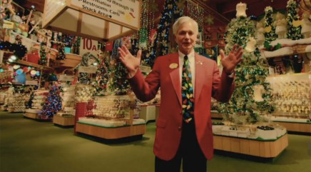 Take a peek inside the world's largest Christmas store