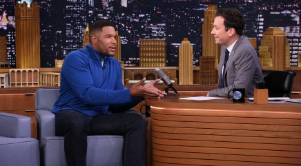 Michael Strahan reveals why he used to cry during football games