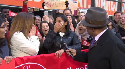 Al Roker stuns high school student with life-changing news on live TV