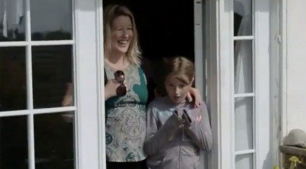 Deserving single mother has best reaction to home makeover