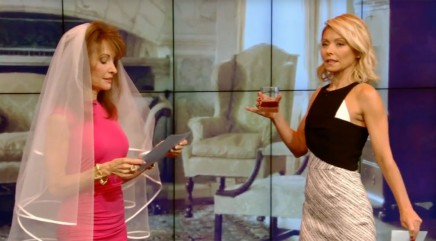 Susan Lucci and Kelly Ripa reprise their 'All My Children' roles
