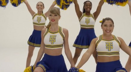 Behind the scenes of Swift's 'Shake It Off'