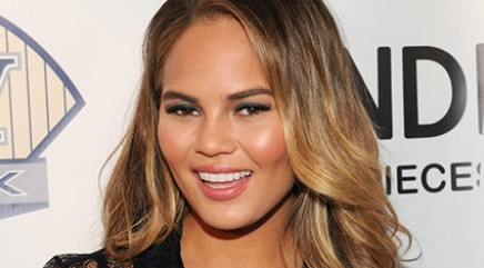 Teigen almost has wardrobe malfunction
