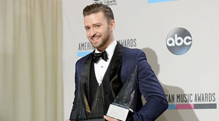 Justin Timberlake dresses up as a giant lime