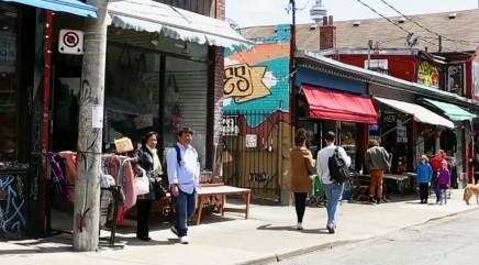 Toronto's vintage Kensington Market