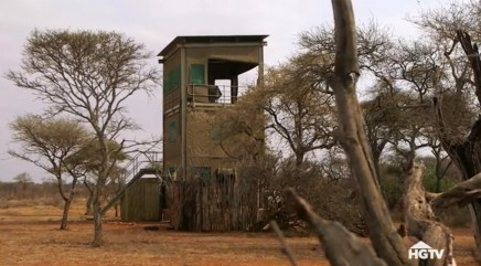 53-foot tower in the middle of an African game-farm is actually a home