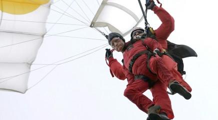 89-year-old vet's daring stunt