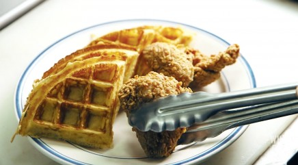 The secret to making NYC's best chicken and waffles