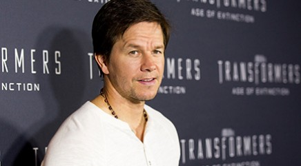 Wahlberg teams up with Optimus Prime