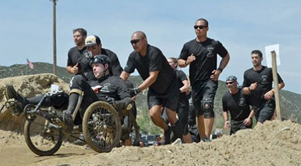 Wounded warrior takes on the ultimate challenge