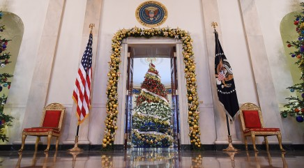 80 years of Christmas at the White House