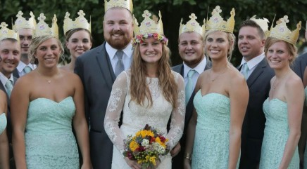 Burger King throws a 'whopper' of a wedding for special couple