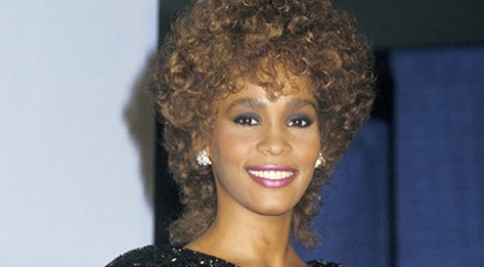 Who will sing Whitney's songs in biopic?