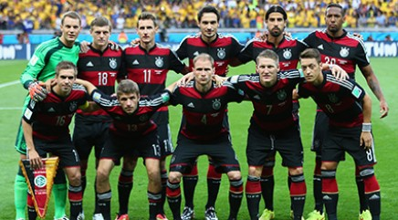 Germany's historic win against Brazil