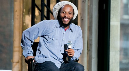 Ziggy Marley opens up about his famous father